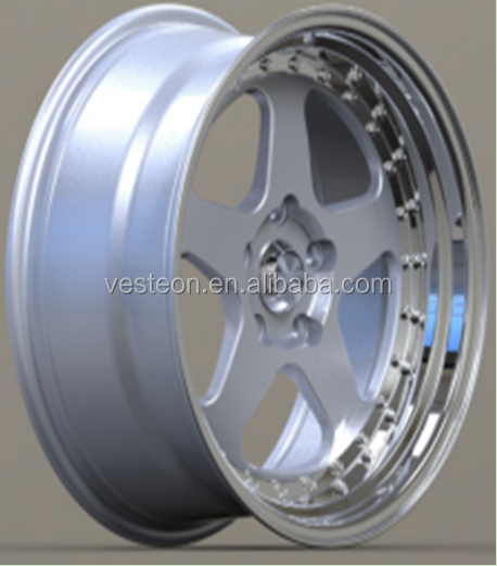 Nice design deep dish mag wheels/alloy wheels for sale