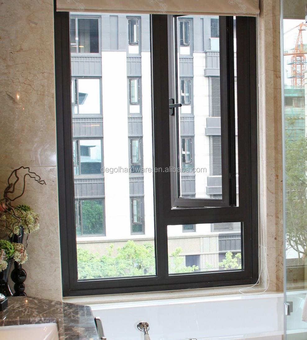China wholesale old black aluminum alloy sliding casement for Buy casement windows