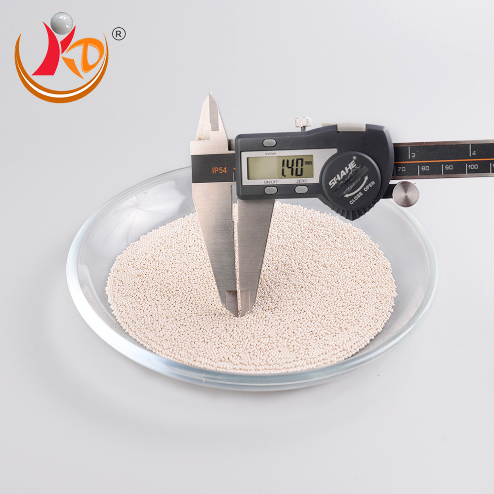 High density 4.02 zirconia silicate grinding beads and balls