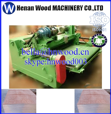 Spindle less veneer peeling lathe with clipper,combined veneer peeling machine