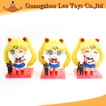 Custom Made Anime 7cm Sailor Moon Toy PVC Action Figure