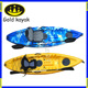 Customized cheap small fishing kayak/used kayak fish/power kayak with motor for sale