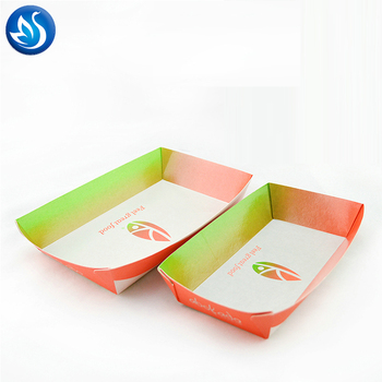 Fried Chicken Paper tray,Paper Baking Container and Paper Baking Tray for Cake Bread Loaf