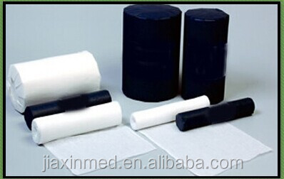disposable cotton medical roll of gauze