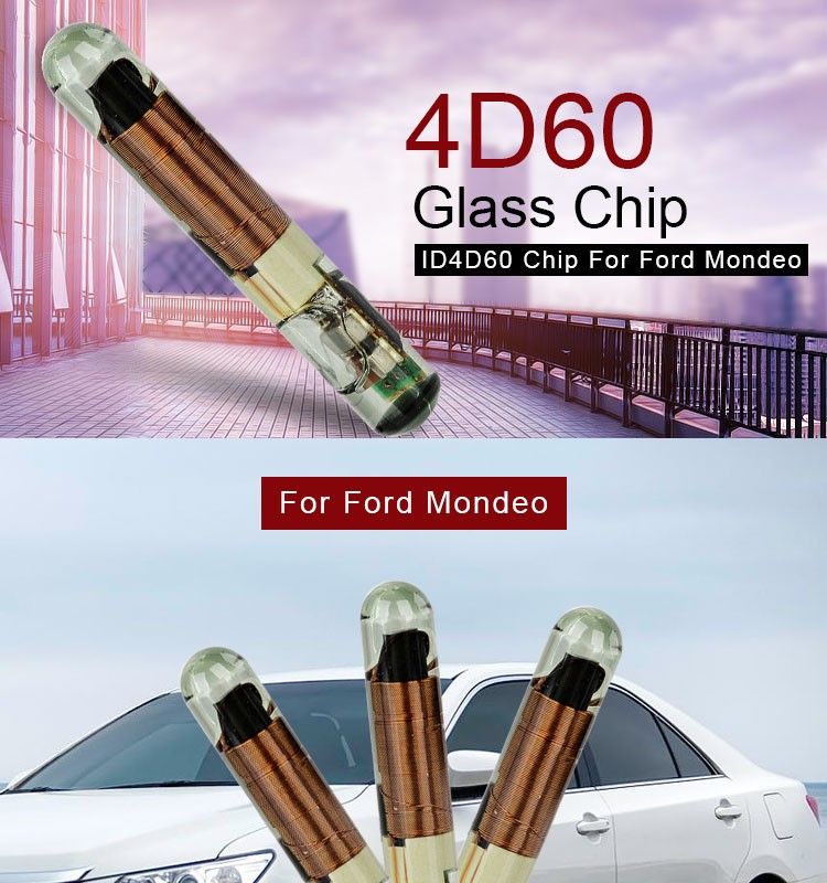 DY120519 Glass Original 4D60 Transponder Chip