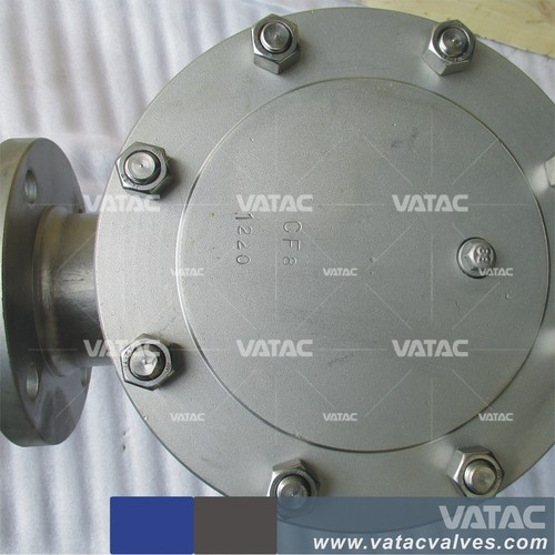VMV DIN ANSI WCB 800LB for steam system Vatac Cast steel Flange Lever Ball Float Type Steam