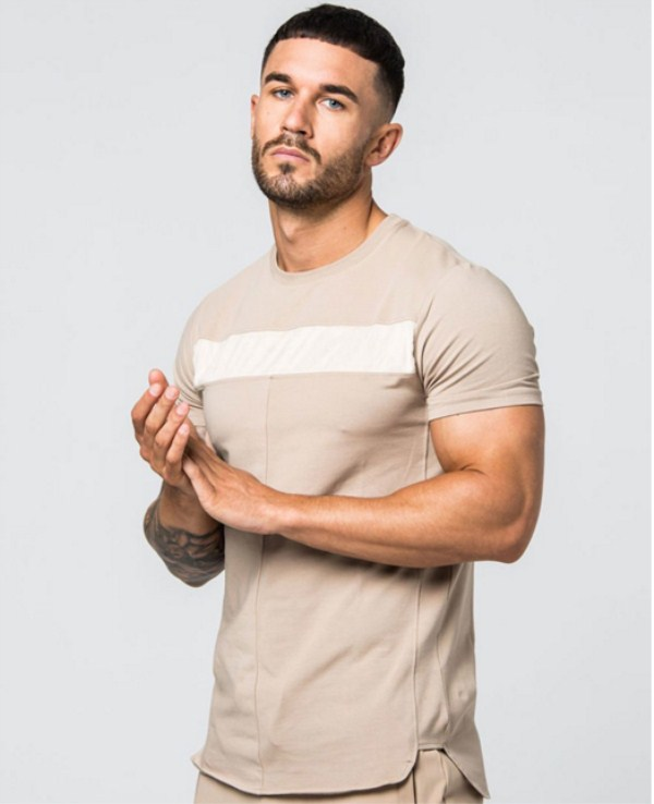 custom mens t shirts slim fit gym apparel make your own t shirt