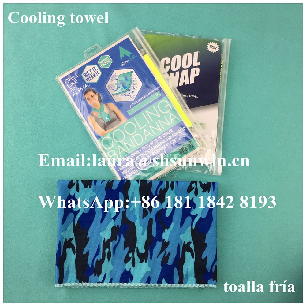 Fairy 2016 Hot Selling Softextile Cooling Sports Towel