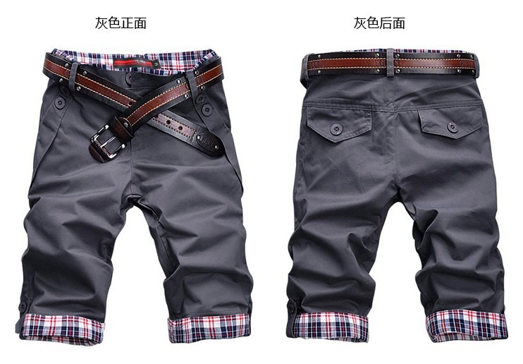 OEM New Mens Shorts Chino Cargo Cotton Casual Work Combat Pants Trousers