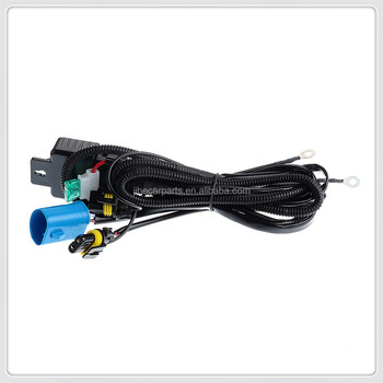 Hid Relay Harness 9007/hb5 12v 35w/55w Bi-xenon Hi/lo H/l Wiring Controller on