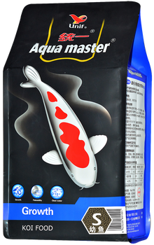 Aqua master Koi Carp Fish Food(Feed), Growth, Rapid Koi Growth 5kg (S/L)