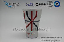 NB-PACK New product aluminum disposable beer mug/cans/cup/tumblers