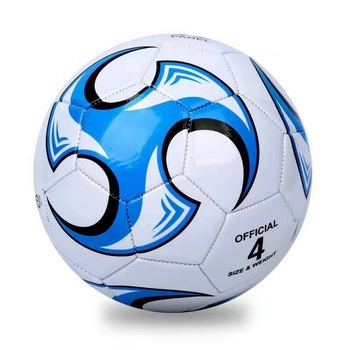 professional size 5 pu machine sewn soccer ball football