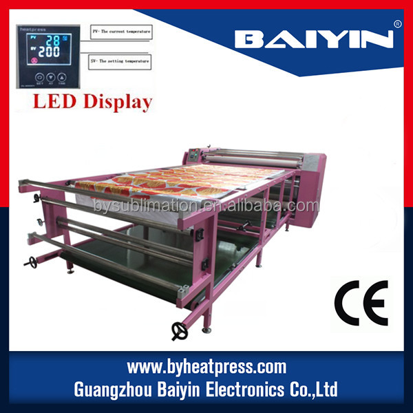 rotary drum sublimation heat press machine