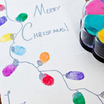 çocuk Boyama Kitabı Wparmak Izi Inkpad 6 Renk çeşitli Sanat Zanaat