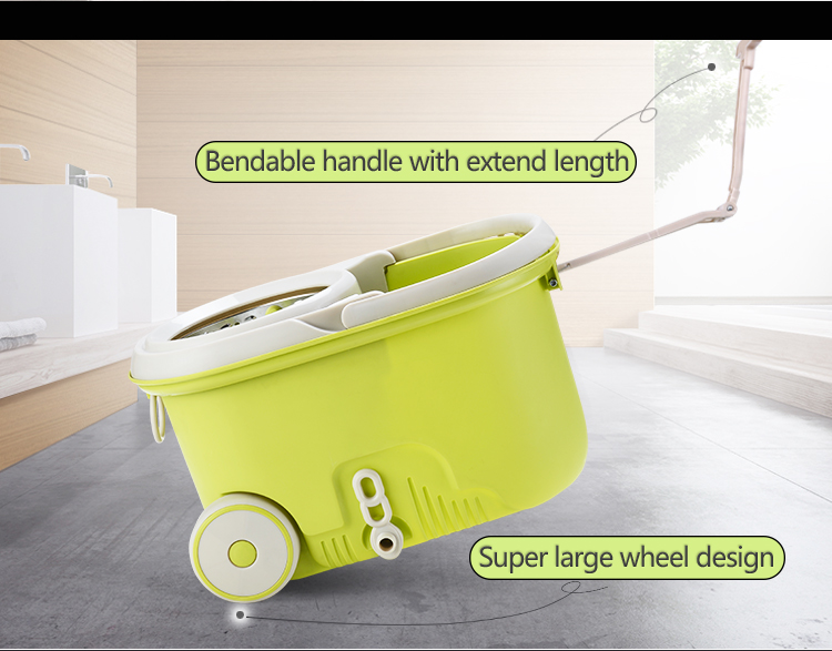 TOPOTO China microfiber cute walkable house cleaning magic mop as seen on tv 2019