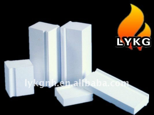 heatproof corundum block for high temperature furnace