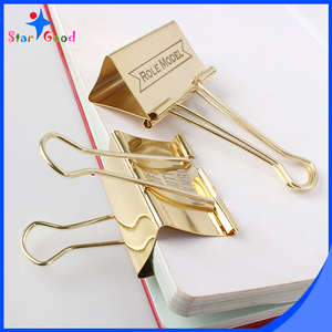 Custom Design Spring Clamp Paper Binder Clips Sizes