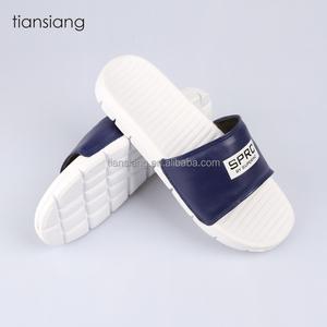 0caa704d35e466 Custom 2017 new design eva slide slippers pu sandals men