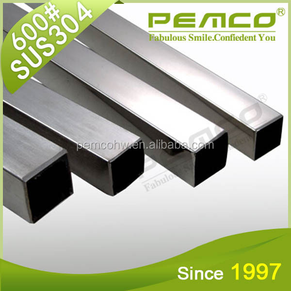 Custom Polish Decoration Square Stainless Steel Welded Pipe
