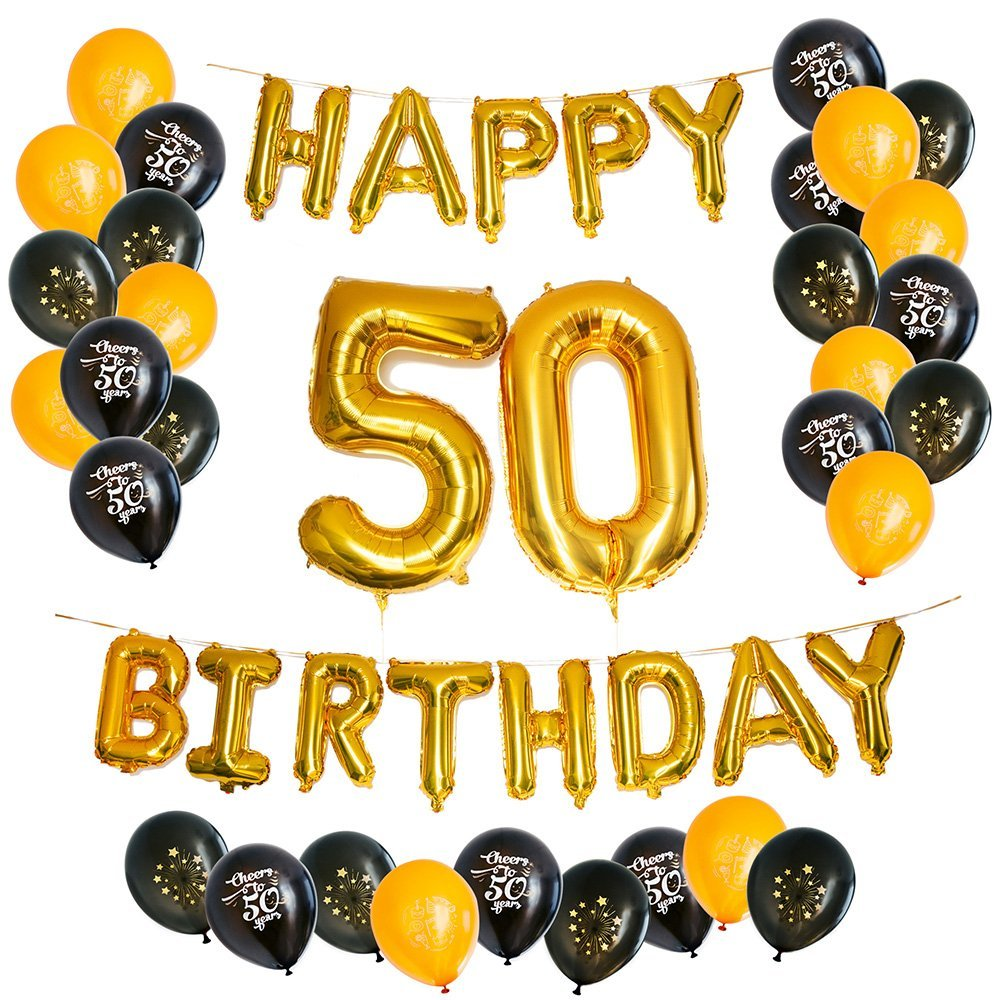 30th Birthday Decorations Party SuppliesThirtieth Balloons Rose GoldRose Gold Hang Happy