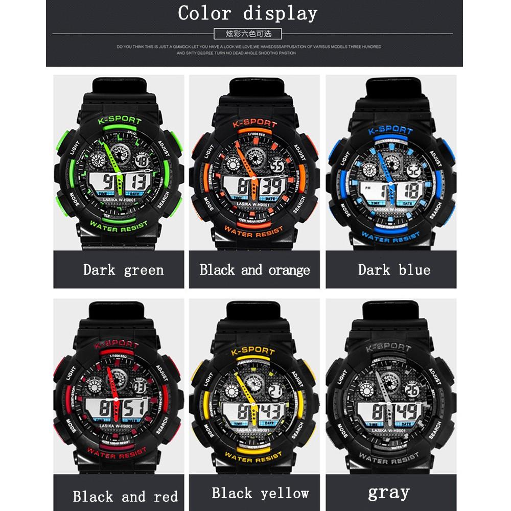 ed3c281c34a Fábrica original dos homens China fujian mercado digital esporte  impermeável lasika relógio 9001