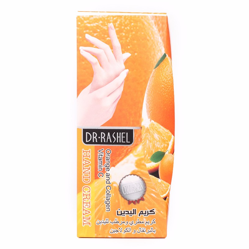 DR.RASHEL Orange Collagen Long Lasting Moisture Smooth Skin Crack Treatment Hand Cream