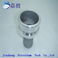 Aluminum Camlock Quick Coupling Reducing male Coupler x Hose Shank