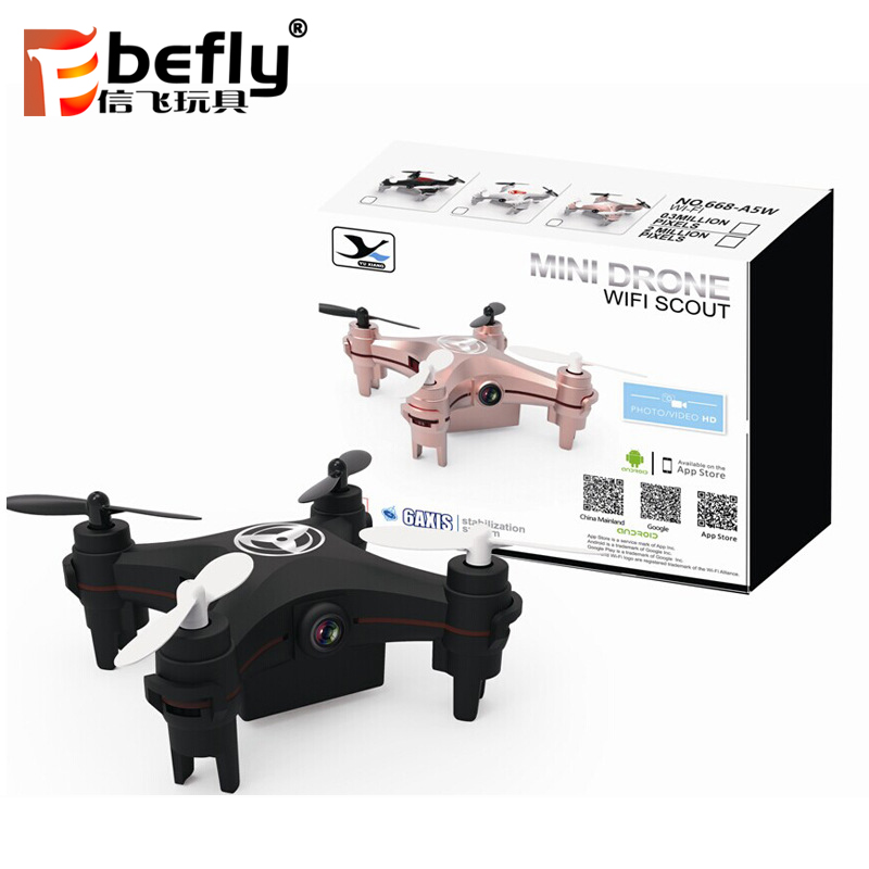 RC toy foldable altitude hold quadcopters 1080P 2.4GHz selfie wifi phone control optical flow camera drone with HD camera