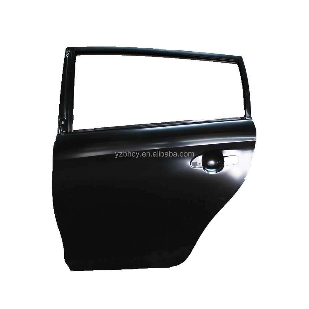 hot selling Toyota spare body parts VIOS yaris 2014 ZSP151 car rear doors 67004-0D220/67003-0D900