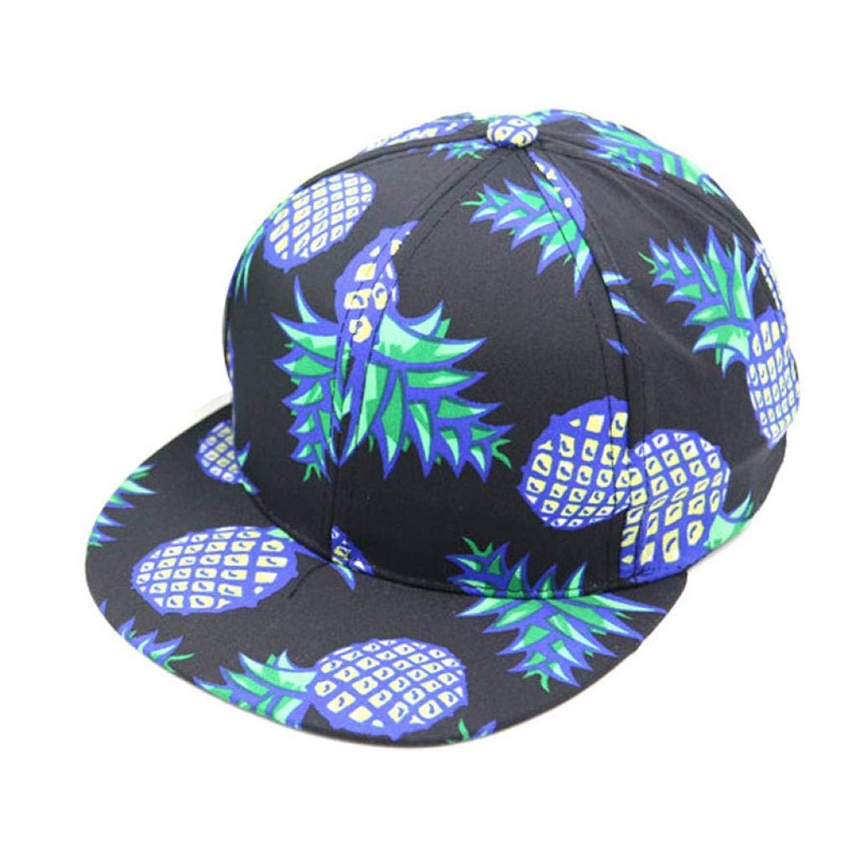 Hanican Fashion Women Men Hats Pineapple Adjustable Baseball Caps Bboy Snapback Hat Hip-Hop Cap