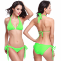 Bikini Set Splicing Push Up Swimsuit Brazilian Women Biquini Swimwear Fully lined Bathing Suits Sexy Bra
