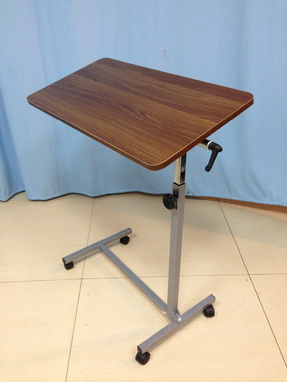abs table side tray bed drawers used adjustable bedside over with hospital tables drawer