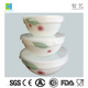 Opal Glass 3pcs Stackable Bowl Set