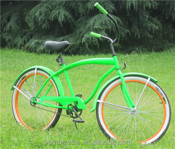 Whole Beach Cruiser Bike Tires Orange Bicycle For Chea Product On