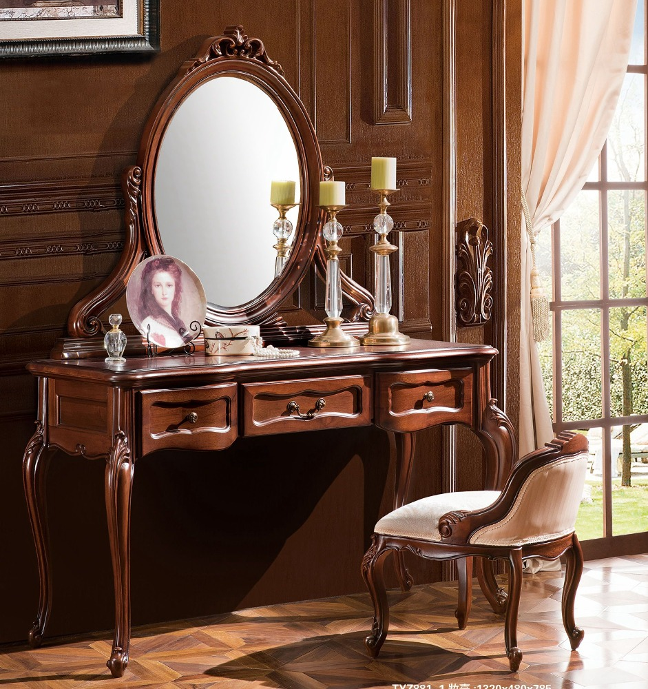 Antique mirrored dressing table - Antique Dressing Table With Mirror And Stool Antique Dressing Table With Mirror And Stool Suppliers And Manufacturers At Alibaba Com