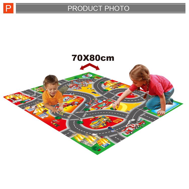 Funny indoor games kids carpet children play mat for sale