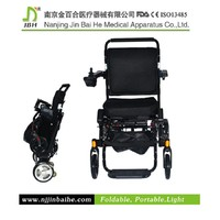 JBH portable electric wheelchair scooter handicapped tricycle