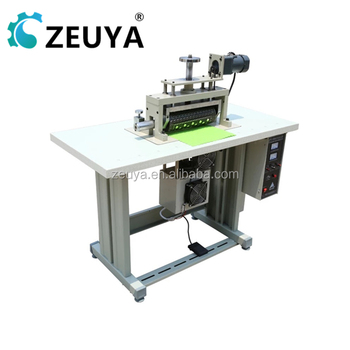 Durable 300MM ultrasonic ultrasonic lace sewing machine CE Approved