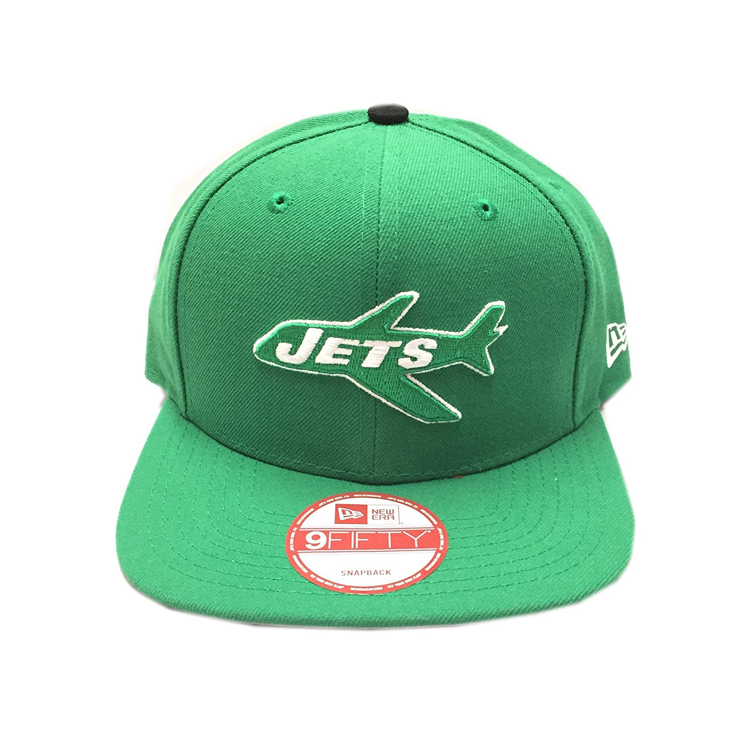 7adbce0d3fd82 Get Quotations · New Era New York Jets NFL Historic Vintage 9FIFTY Snapback  Cap