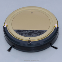 thin sweeping robot vacuum cleaner for carpet used with uv lamp