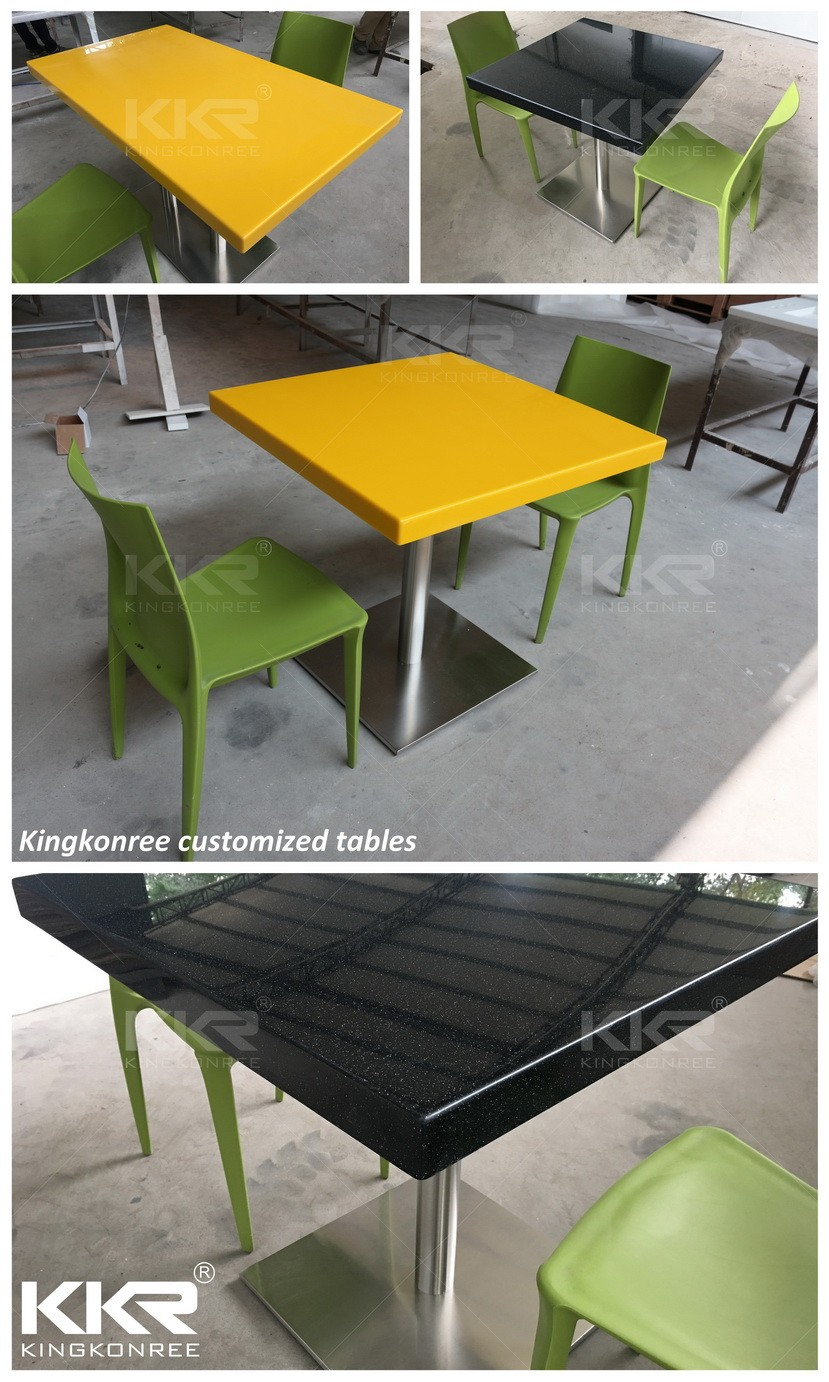 Custom Size Artificial Marble Table Top Replacement