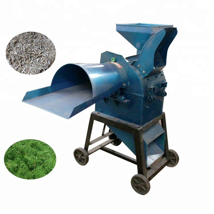 Good quality small silage chopper straw chopper machine cattle feed hay cutter grass chopper