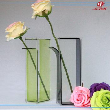 Factory Acrylic Black Centerpiece Vasesplastic Tall Centerpiece