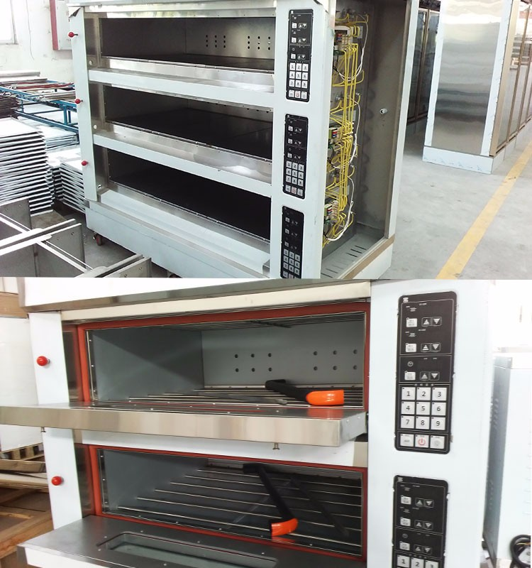 Shentop F39 3 Layers 6 Trays Commercial Bakery Equipment Used ...