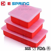Good Reputation 4 6 8 cavity Silicone Ice Cube Tray Cover