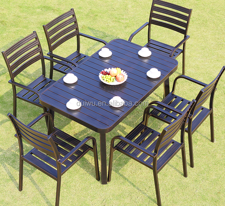 Wholesale broyhill outdoor garden use furniture bulk metal coffee table sets