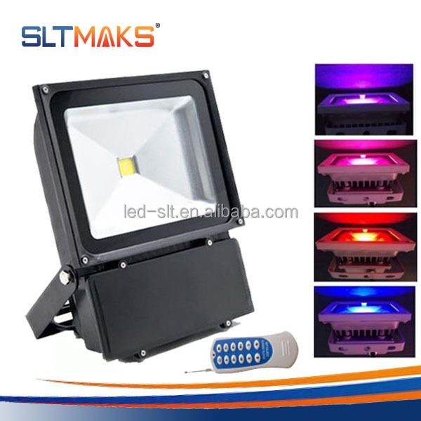 Remote Control 100w Rgb Led Flood Light For Ip65 Outdoor Useing ...