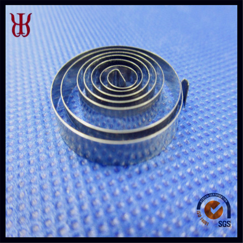 Flat Constant Force Clock Retractable Cable Spiral Spring