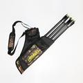 14 50CM Three Tubes Camo Archery Quiver Bag Shoulder Or Waist Carry Hunting Bow Arrow Bags